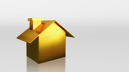 investment gold house