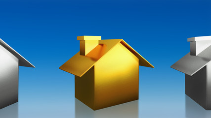 investment the gold house sky