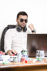 Online poker success
