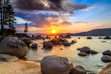 Lake Tahoe at sunset © Mariusz Blach
