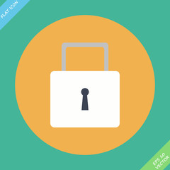 lock icon - Vector icon