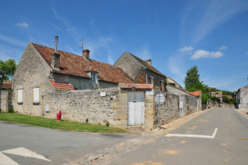 France, the picturesque village of Gadancourt