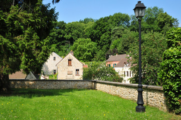 France, the picturesque village of Boisemont