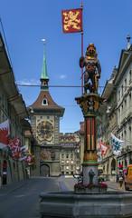 Clock tower, Bern