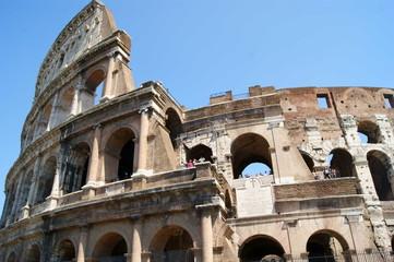 Dettaglio al Colosseo