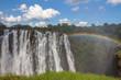 Постер, плакат: Victoria Falls in Zambia side