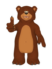 Cartoon 3d Bear