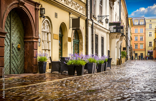 Fototapety, obrazy : Krakow - Poland's historic center, a city with ancient