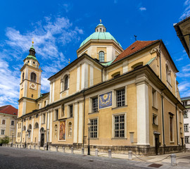 Saint Nicholas Cathedral of Ljubljana, Slovenia