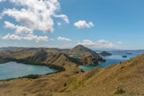 Nice view of Komodo Islands in Indonesia