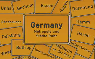 Germany Ruhrstädte
