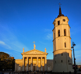 Cathedral of Vilnius Lithuania