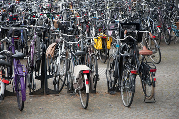 Parking pour bicyclettes à Maastricht