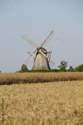 canvas print picture Windmühle Destel (Stemwede)