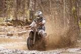 Fototapety Motocross Dirt Driver