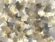 Abstract tiled background in grey, brown, yellow
