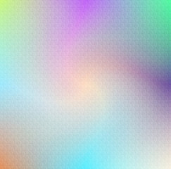 Soft rainbow colour background in blue, violet and green