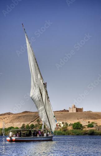 Navegar por el Nilo