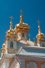 Church at Grand Peterhof Palace, Saint Petersburg, Russia