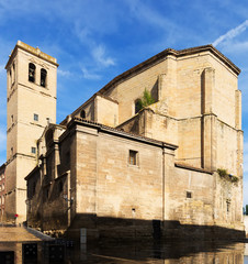 Church of Santiago el Real in Logrono. Rioja, Spain