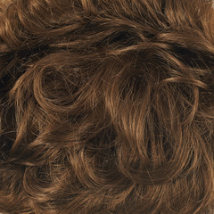 Hair fragment as a background composition