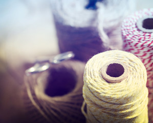 Spools of String