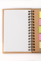Diary and note pad