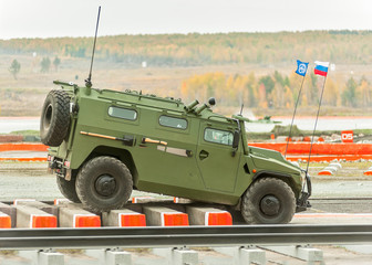 VPK-233115 Tigr-M armored vehicle