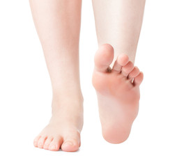 Woman foot