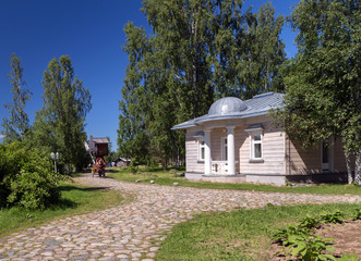 Mandrogi Russian Village attractions in Verkhniye Mandrogi