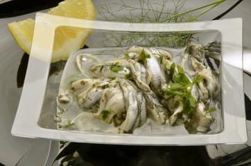 Alici marinate Cucina italiana Gastronomía de Italia