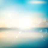Fototapety Abstract summer background