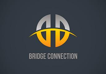 bridge-connection-vector-logo