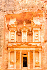 The Treasury in the ancient Edomite city of Petra, Jordan