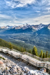 Sulphur Mountain in Banff, Alberta, Canada