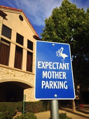 Parking spot for pregnant women