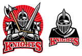 medieval knight mascot