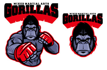 MMA fighter gorilla
