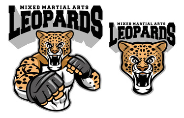 MMA fighter leopard