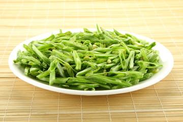 Sliced Hyacinth bean