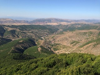 little valley in Turkey