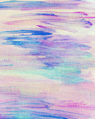 Abstract painted colorful watercolor background.