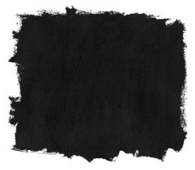 Grunge black ink brush strokes.