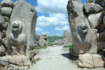 ライオン門  ハットシャシュ遺跡