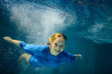 Unterwasser Segelflug