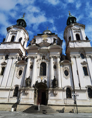 Saint Nicholas Church in Prague, Czech republic