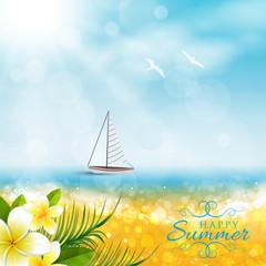 Spiaggia, Barca, Estate