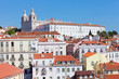 View of Lisbon in the sunny summer day, Portugal