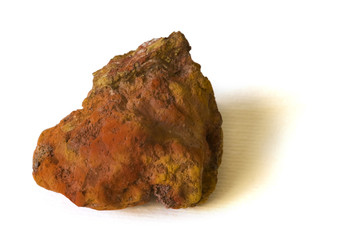 Limonite (iron ore) from Italy. 5cm high.