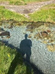 ombra nel torrente